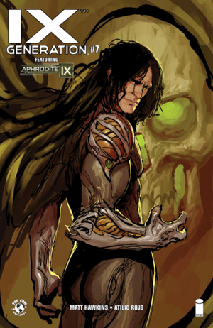 Cover for IXth Generation #7 (2015)