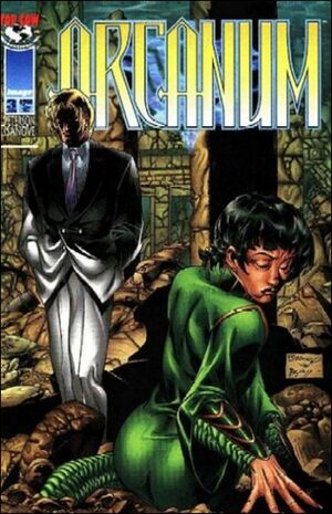 Cover for Arcanum #3 (1997)