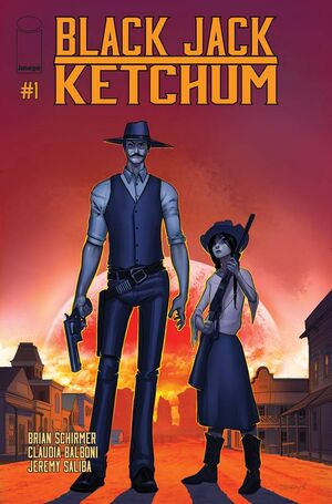 Cover for Black Jack Ketchum #1 (2015)