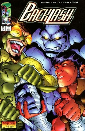 Cover for Backlash (1996)