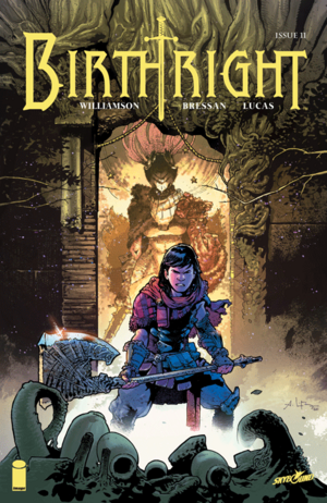 Cover for Birthright #11 (2015)