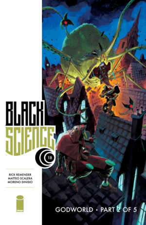 Cover for Black Science #18 (2015)