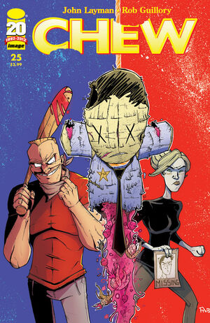 Cover for Chew #25 (2012)