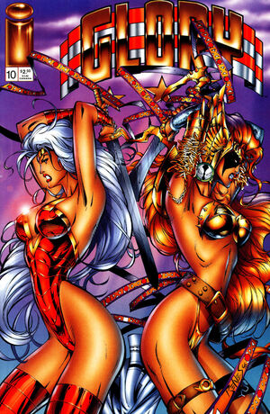 Cover for Glory #10 (1996)