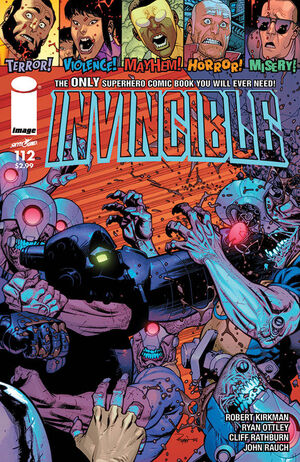 Cover for Invincible #112 (2014)