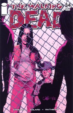 Cover for The Walking Dead #34 (2007)