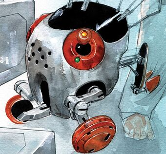 Bandit (Descender) | Image Comics Database | Fandom