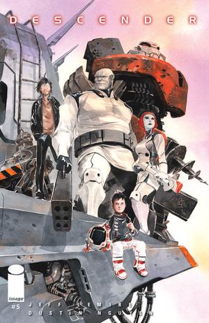 Cover for Descender #5 (2015)