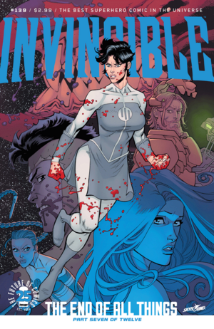 Cover for Invincible #139 (2017)