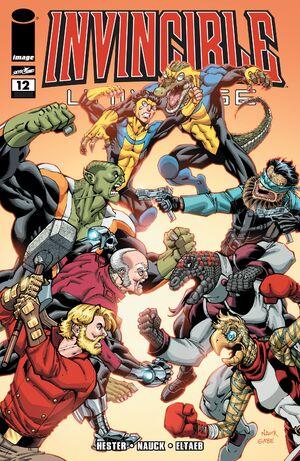 Cover for Invincible Universe #12 (2014)