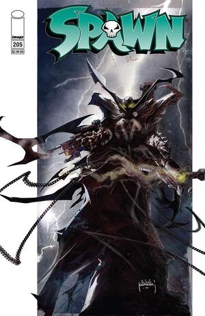 Cover for Spawn #205 (2011)