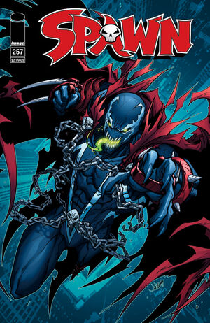 Cover for Spawn #257 (2015)