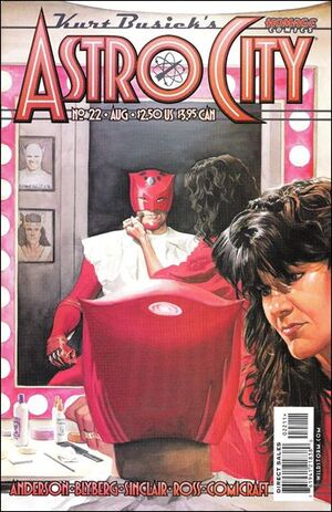 Cover for Astro City #22 (2000)