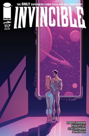 Cover for Invincible #117 (2015)