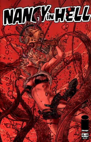 Cover for Nancy in Hell #4 (2010)