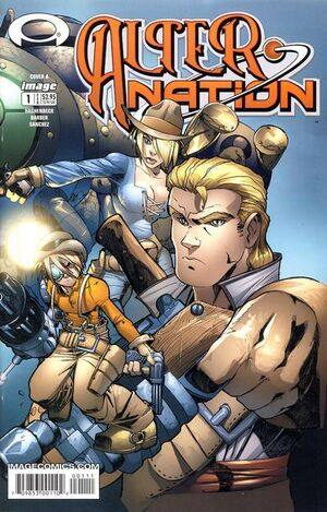 Cover for Alter Nation #1 (2004)