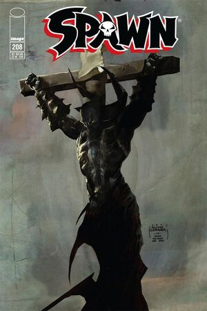 Cover for Spawn #208 (2011)