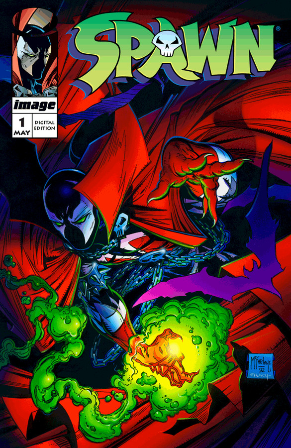SPAWN #250~OVER-SIZED ISSUE~TODD MCFARLANE COVER ART~NEW MOVIE COMING SOON~