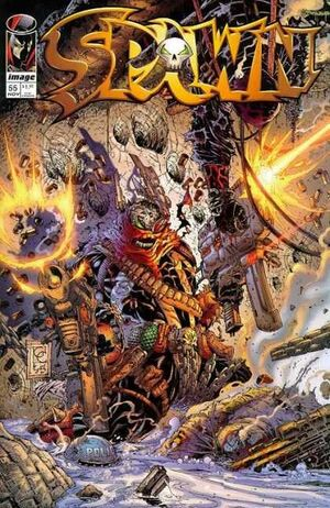 Cover for Spawn #55 (1996)