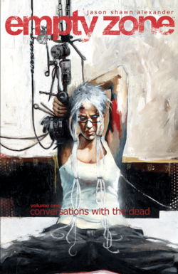 Cover for the Empty Zone TPB Vol 1 Conversations with the Dead Trade Paperback