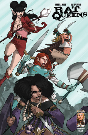 Cover for Rat Queens #2 (2013)