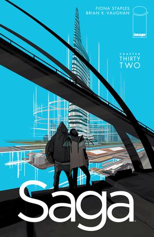 Cover for Saga #32 (2015)