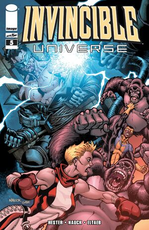 Cover for Invincible Universe #5 (2013)