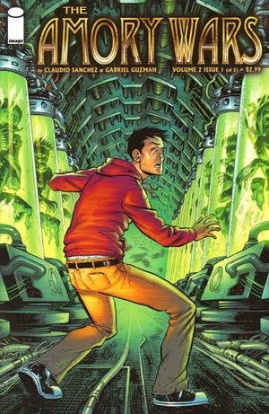Cover for The Amory Wars #1 (2008)