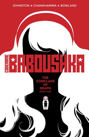 Cover for Codename Baboushka #5 (2016)