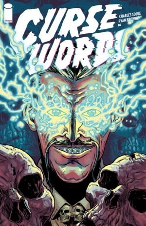 Cover for Curse Words #16 (2018)