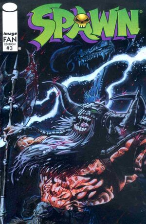 Cover for Spawn Fan Edition #3 (1996)
