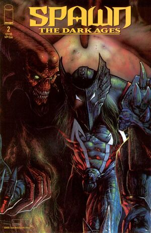 Cover for Spawn The Dark Ages #2 (1999)