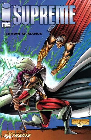 Cover for Supreme #8 (1993)