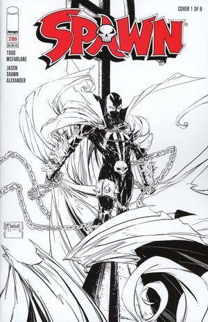 Cover for Spawn #286 (2018)
