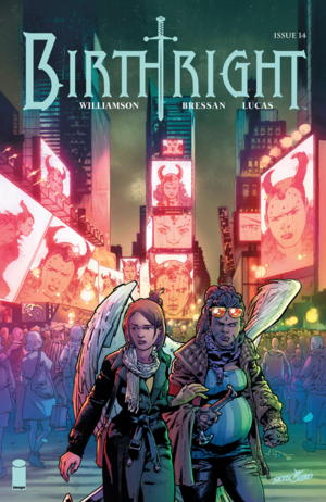 Cover for Birthright #14 (2016)