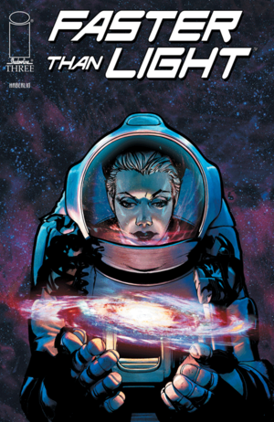 Cover for Faster Than Light #3 (2015)