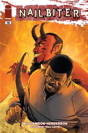 Cover for Nailbiter #18 (2015)