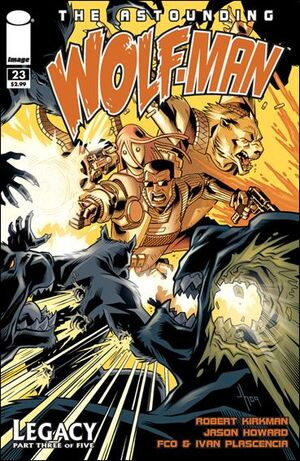 Cover for Astounding Wolf-Man #23 (2010)