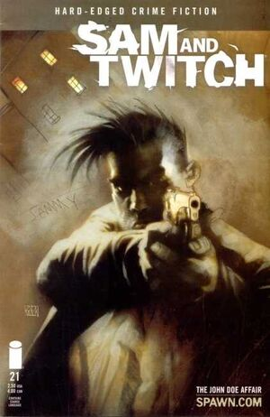 Cover for Sam and Twitch #21 (2001)