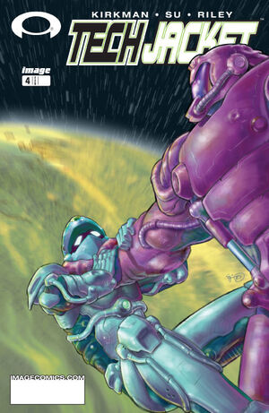 Cover for Tech Jacket #4 (2003)