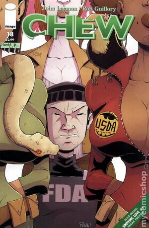 Cover for Chew #18 (2011)