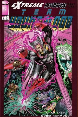 Cover for Team Youngblood #7 (1994)