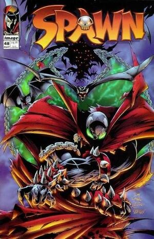 Cover for Spawn #48 (1996)