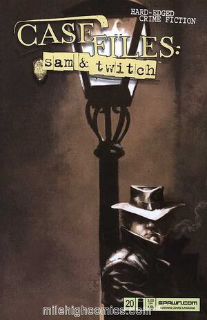 Cover for Case Files: Sam and Twitch #20 (2005)