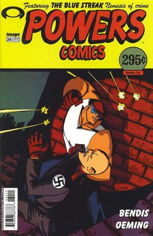 Cover for Powers #34 (2003)