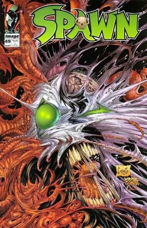 Cover for Spawn #49 (1996)