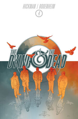 Cover for The Dying and the Dead #4 (2015)