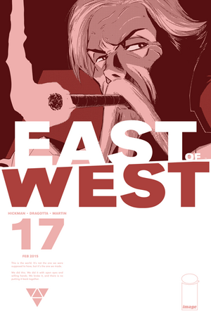 Cover for East of West #17 (2015)