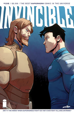 Cover for Invincible #130 (2016)