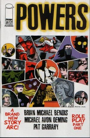 Cover for Powers #8 (2000)